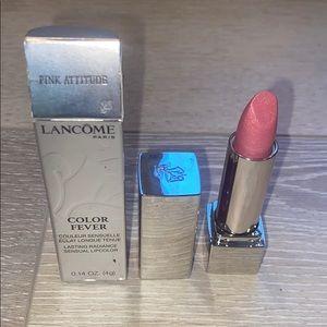 Lancôme color fever Pink Attitude Lipstick NWT